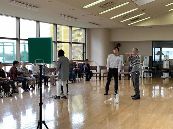 ヴィンテージ・ヴィラ横浜、「スポーツ吹き矢」体験会を実施しましたの画像
